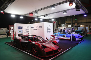 Ligier Sports Cars on display at Autosport International Show