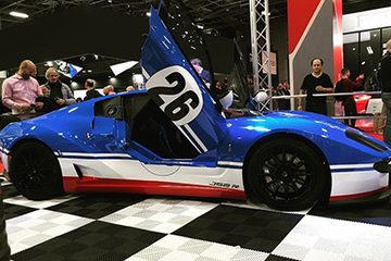 Ligier JS2-R unveiled at the Paris Motor Show